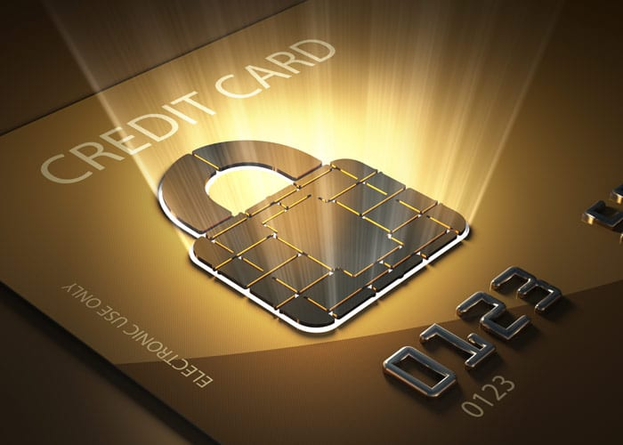 Secure Credit Card With Lock
