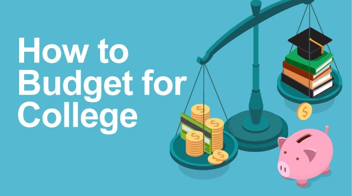 We can help you create a budget for college. Here are some tips and resources for you to utilize.