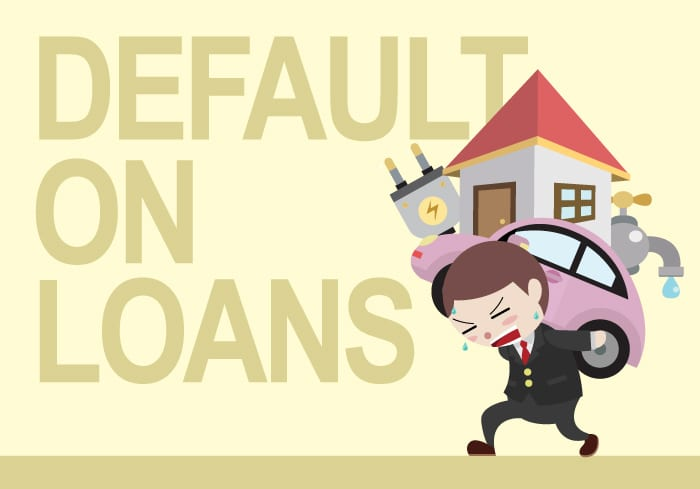 What will happen if you do not pay a loan to a bank How can you avoid liability