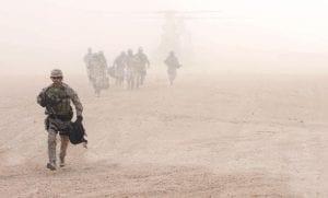 Soldiers Walking