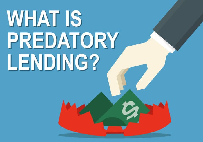 What to do and how to avoid predatory lending