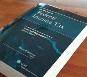 IRS tax code is thousands of pages long