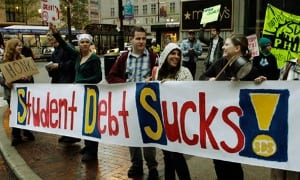 Student loan debt puts a drag on the housing market and economy.