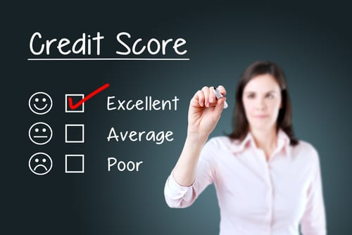 Credit Scores Image of Woman