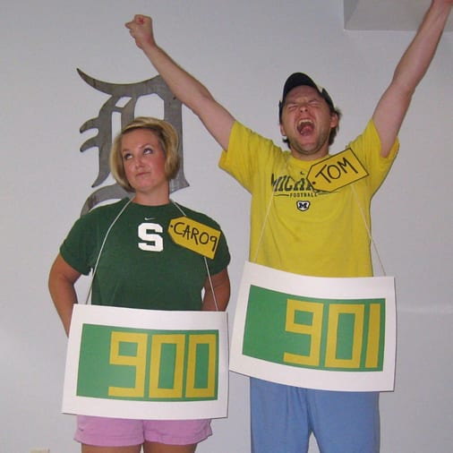 For just $1 you can create The Price is Right Halloween costume!