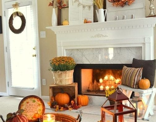 Get crafty this fall and winter to save money on home decor.