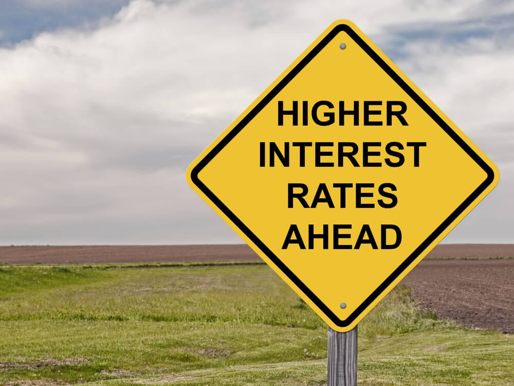 Warning Card Interest Rates Up