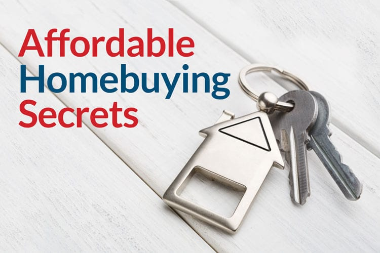 Keys with house for affordable homebuying secrets