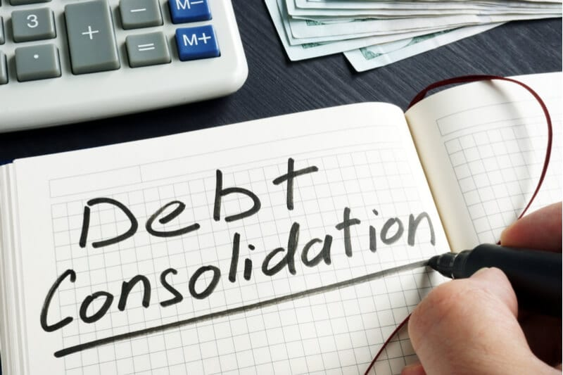 consolidating debt into new home loan