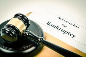Gavel and paperwork for Bankruptcy Means Test
