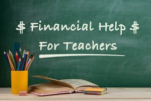 Financial help for teachers