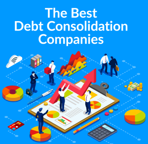 Illustration of Debt Consolidation Companies Review