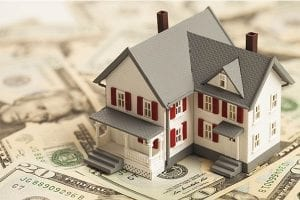 Home sitting on cash taken out to refinance the mortgage