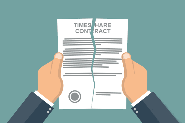 Ripping up a timeshare contract