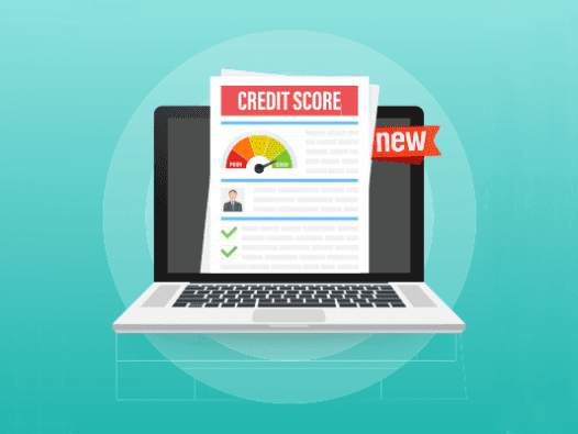 Image of a new credit report