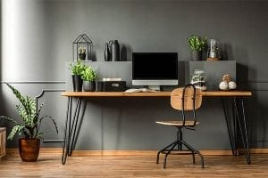Home office setup that might be expensed on taxes