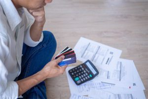 Analyzing credit card bills before filing bankruptcy