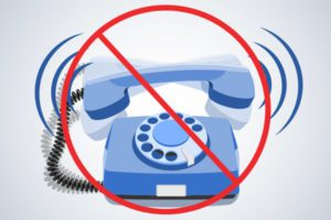 Phone ringing for bankruptcy debt collector